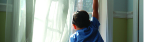 lead poisoning invisible dust at window