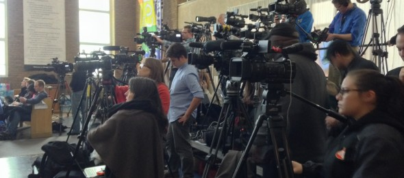 media at Flint lead poisoning fourm